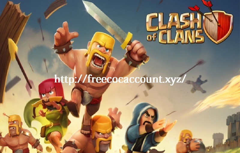 Free CoC Accounts Android Giveaway 2018