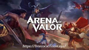Free Arena of Valor Hero Accounts List