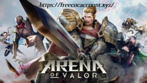Free Arena of Valor Accounts High Level